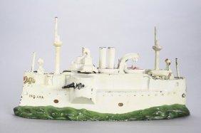 Battleship Indiana Still Bank
