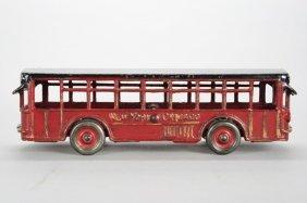 New York / Chicago Bus Cast Iron