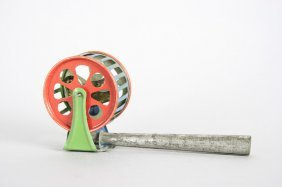 Bird In Revolving Cage Penny Toy