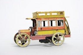 Windup Double Decker Bus - 5¢ Toy