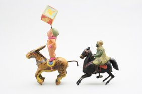 Two Equestrian Themed Toys