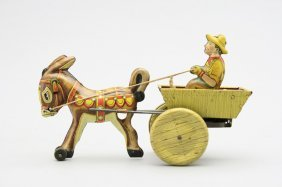 Boy In Donkey Cart