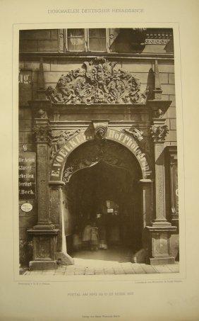 Portal Am Ring No 18 Zu Neisse. 1603