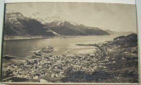 Panorama Of Douglas, Alaska. Cica 1915