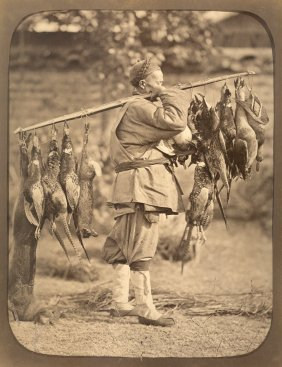 Chinese Poultry Seller. Circa 1865