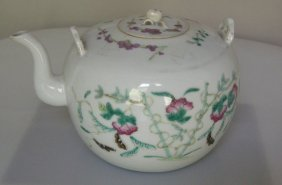Chinese Teapot With Cover And Top