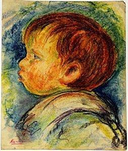 The Boy - Pierre Auguste Renoir