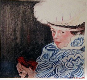 Mary Cassatt - Lady Jhones