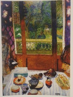 Dining Room Overlooking The Garden Limited Edition -