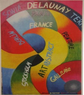Sonia Delaunay - Rythme Colore