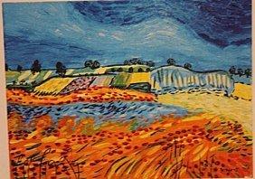 Vincent Van Gogh -wheatfield