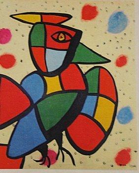 Joan Miro - The Bird