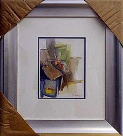 Framed Lithograph By Itzchak Tarkay