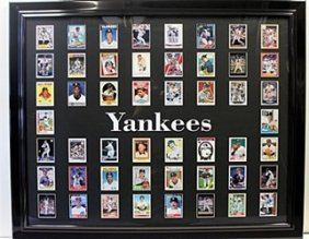 The Yankees - 500 Home Run Club With Authentic Player