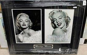 Black & White Portrait Of Marilyn Monroe Ar5724