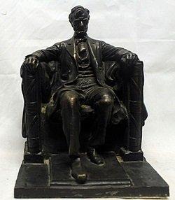 The Lincoln Memoraial Bronze Sculpture