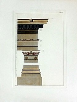 Architecture Etching
