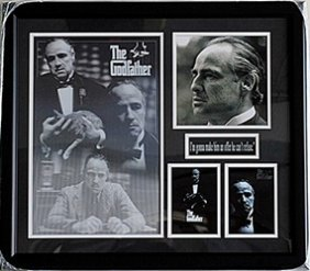 The Godfather Black & White Hologram