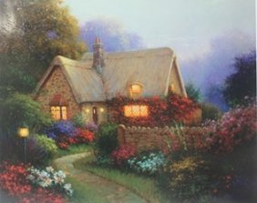 """bougainvillea Cottage"" After Sergon"