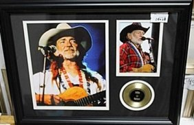 Willie Nelson Giclee Photograph Ar5737