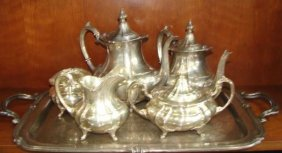 Fisher Sterling Silver Tea/coffee Service