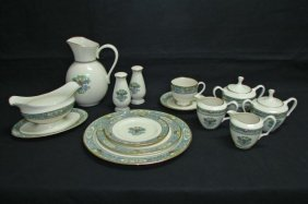 62 Piece Set Of Lenox China - Autumn Pattern