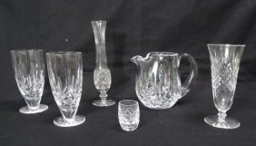 Assorted Waterford Lismore Crystal