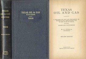 ''Texas Oil And Gas'' 1935 Rare Book