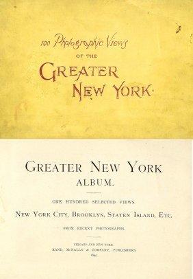 Book 100 Photographic Views New York NYC 1896 Pic