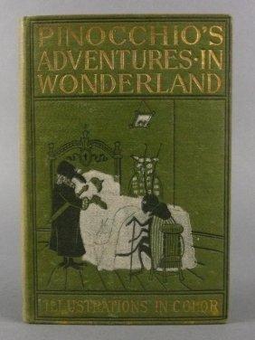 Early Pinocchio's Adventures In Wonderland, 1898 B