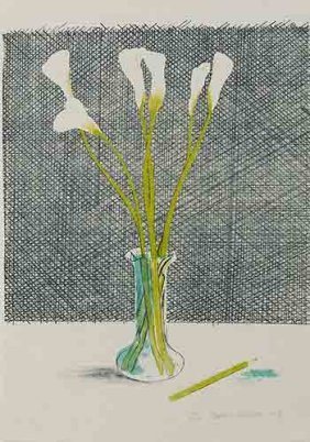 David Hockney, Still Life: Lithograph, 1971