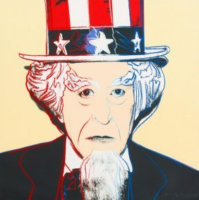 Uncle Sam (from Myths) By Andy Warhol, 1981