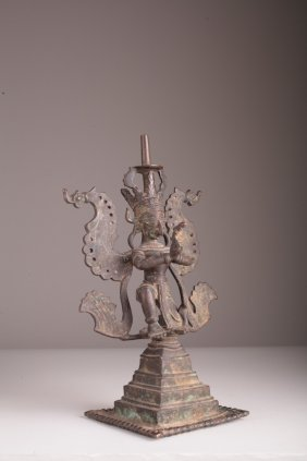 A South East Asian Bronze Birdman