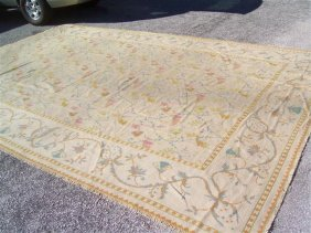 Antique Spanish Rug 11.6 By 17.10