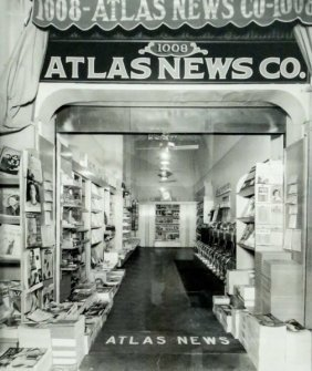 "Bailey Bob ""atlas News, 1937"" Vintage Photograph"