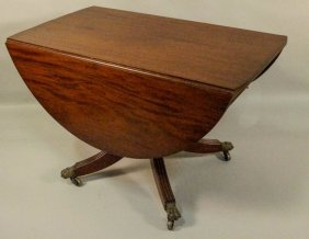 19th Century American Classical Breakfast Table