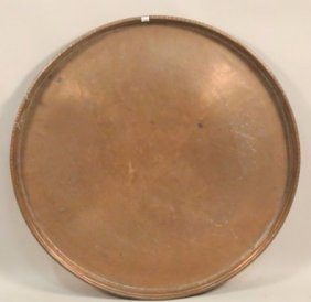 19th Century Large Copper Pan