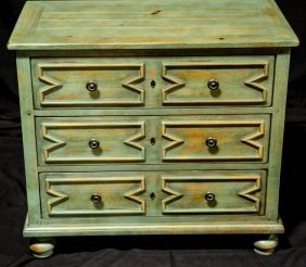 Drexel Heritage Collection Jacobean Style Chest
