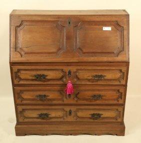 18th Century Spanish Walnut Fall Front Desk