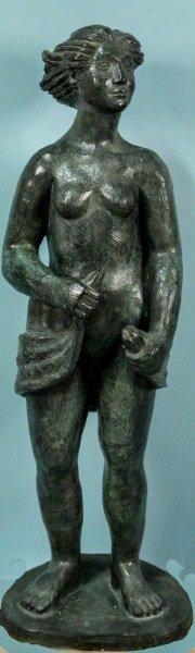 "Pablo Huerta ""standing Female Nude"" Bronze"