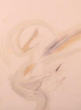 Chris Lesikar Abstract Mixed Media Painting