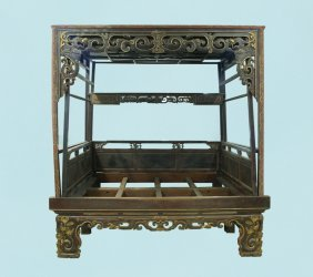 Late 18th, Early 19th Century Chinese Marriage Bed