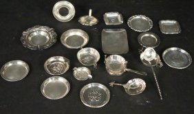Mixed Lot Of 25 Silverplated Pieces