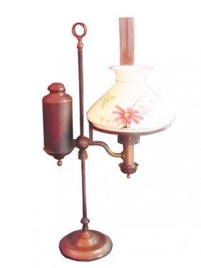 ORIGINAL BRASS STUDENT LAMP SGND CA KLEEMANN 4629