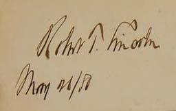 Robert Todd Lincoln Signature - Abraham Lincoln Son