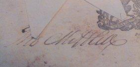 Thomas Mifflin Doi Signer Signature On Land Grant