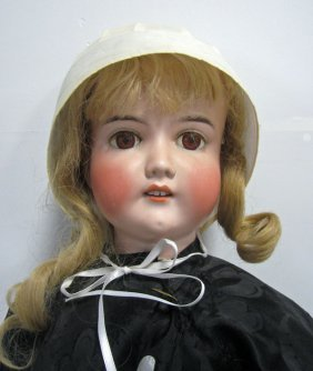 "Antique Doll  38"" Majestic Germany"