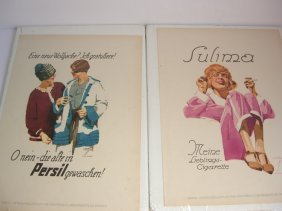 Advertising Lithographs By Ludwig Hohlwein