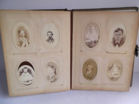 Victorian Easel Pack Photo Album & Photos