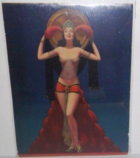 Original C. 1937 Color Poster